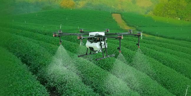 Dron opryskiwcz Agras
