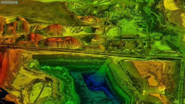 Model 3D wykonany z drona